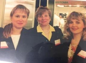Nuotraukoje Gyd. Eglė Slabšinskienė, Profesorė Simona Milčiuvienė, Gyd. Ingrida Vasiliauskienė.