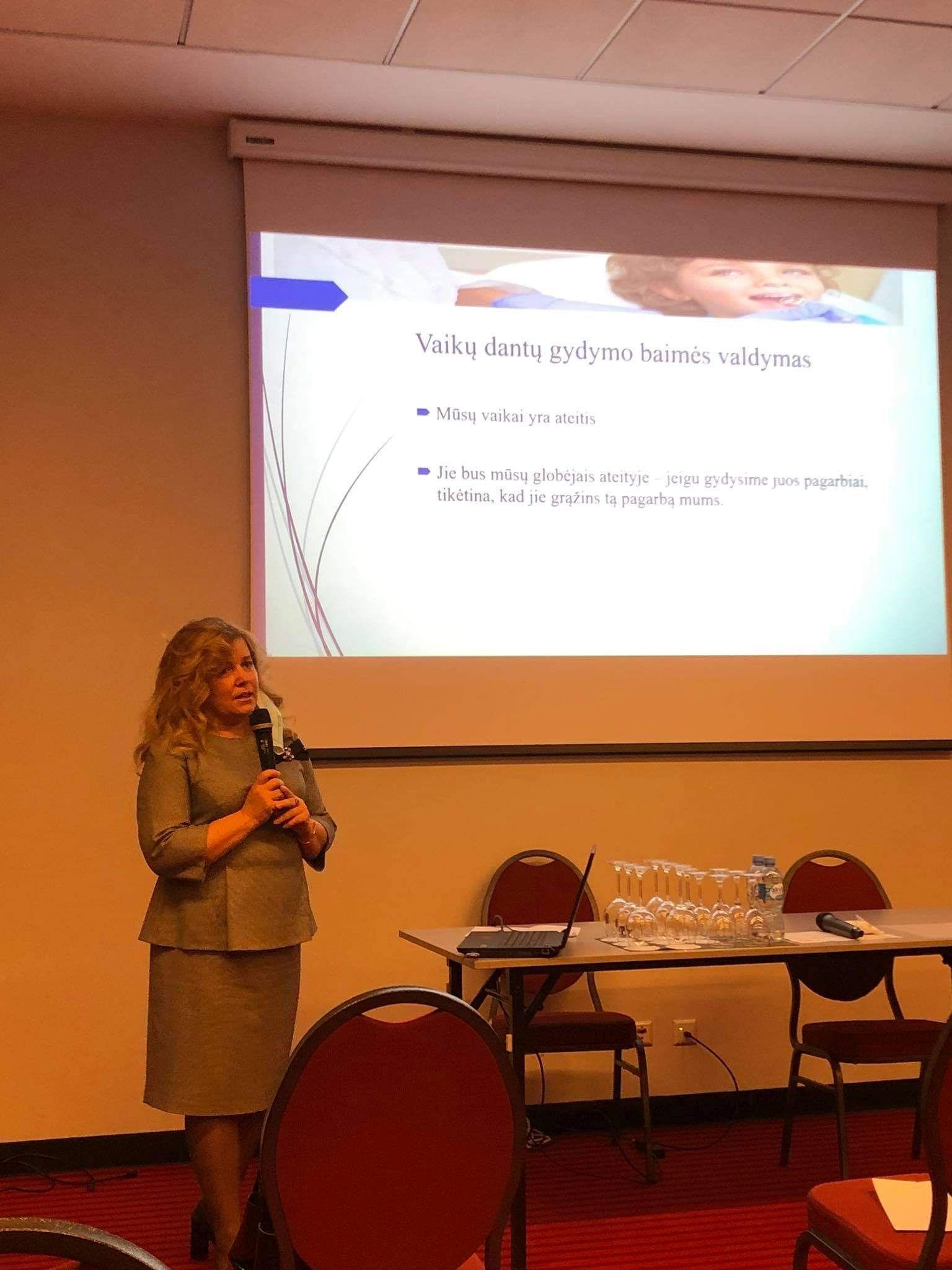 LVOD konferencija ,,Skausmo ir baimės valdymas vaikų odontologijoje.''